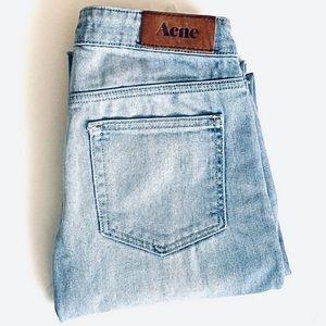 🖤ACNE Deep Hex/Light Wash Jeans
